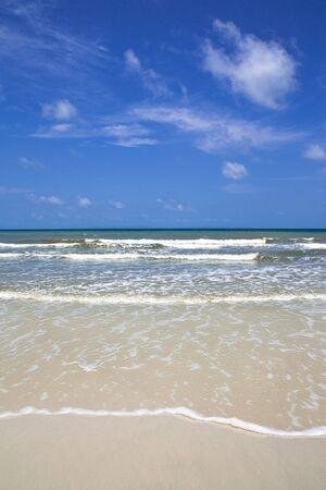 cloud drift: Scenic view of Thailand beach