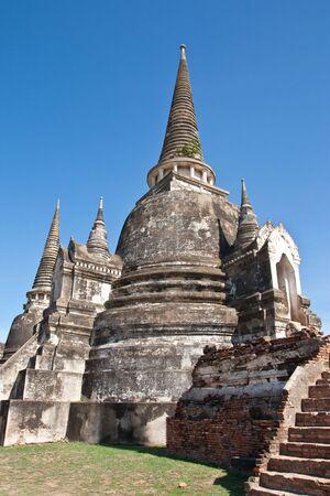 Ayuttha Historical Park, fomer capital city of Thailand photo