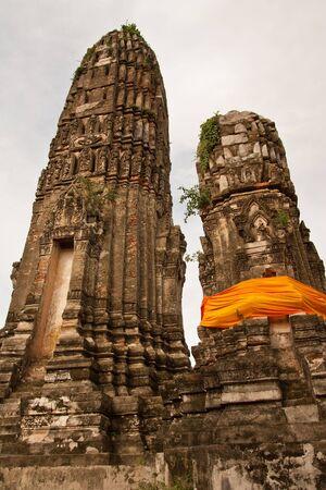 Old pagoda, Thailand photo