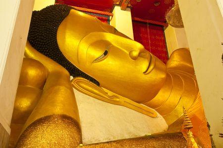 reclining: Reclining Buddha image, Thailand