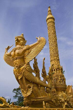 traditonal: Fairy tale bird in traditonal Thai style