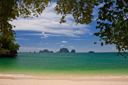 Rai Lay beach, south of Thailand Stock Photo