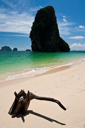 rai lay: Rai Lay beach, south of Thailand Stock Photo