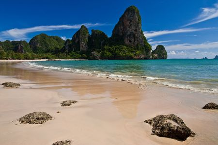 Rai Lay beach, south of Thailand Stock Photo - 5610031