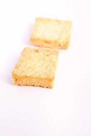 burnt toast: Sugar roasted bread Stock Photo