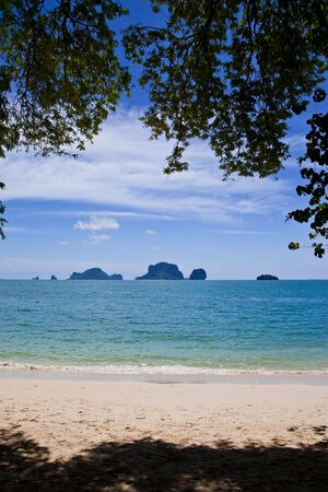 View of Rai Lay beach, south of Thailand Stock Photo - 5834921