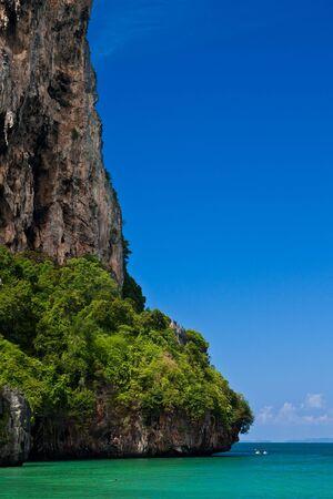 cayak: View of Rai Lay beach, south of Thailand