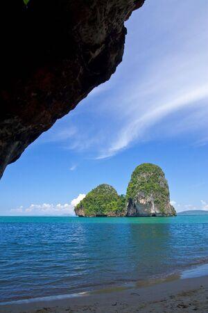 rai lay: View of Rai Lay beach, south of Thailand