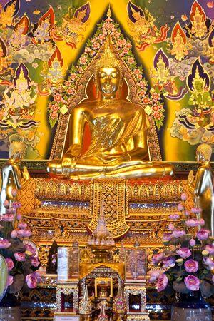 buddha image: Buddha image, Thailand Stock Photo