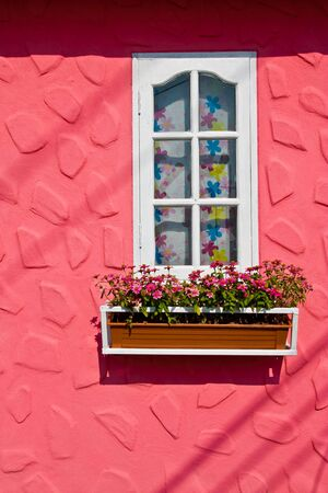 Window and flower box Stock Photo - 5977462