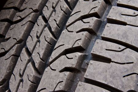 Pattern of car tire Stock Photo - 6149221
