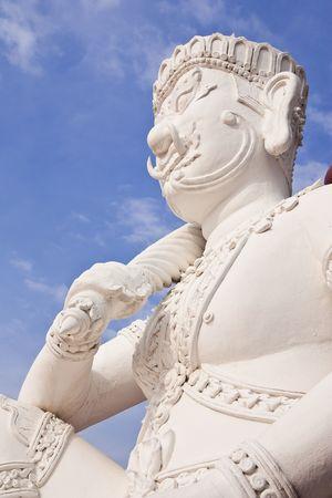 Giant in Thai style molding art photo