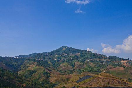 mea: Village on high mountain, Doi Mea Salong, north of Thailand