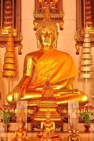 veneration: Buddha image Stock Photo