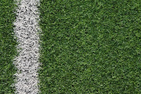 Artificial grass soccer field Stock Photo - 6983403