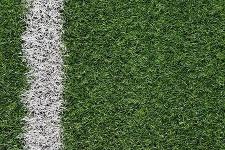 Artificial grass soccer field Stock Photo - 6983403