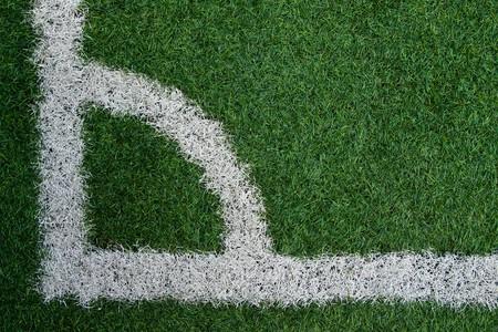 Artificial grass soccer field Stock Photo - 6983443