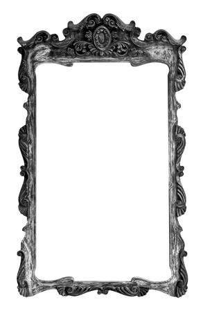 Antique native Thai style wood frame Stock Photo - 7651299