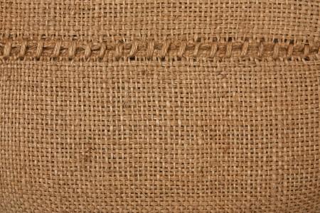 linen bag: Texture of gunnysack