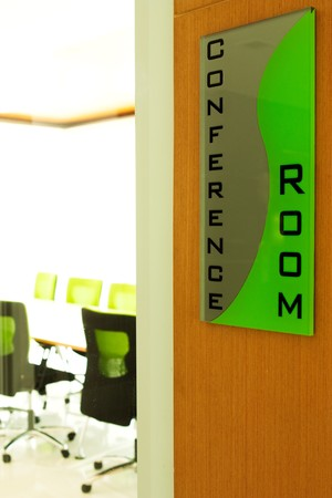 Conference room sign photo