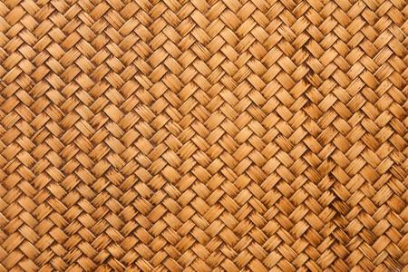 thai style: native Thai style bamboo weaving house wall