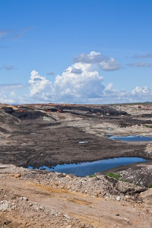 Lignite mine in northern Thailand Stock Photo - 7683844