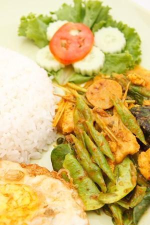 Spicy Thai food photo
