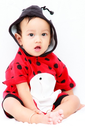 Ten month asian baby Stock Photo - 10100083