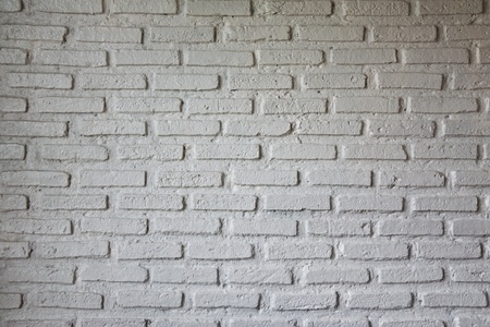Whtie brick wall Stock Photo - 8461205