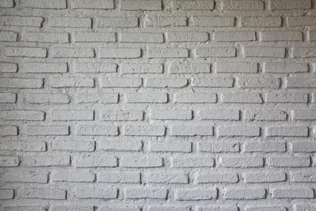 Whtie brick wall Stock Photo - 8461205