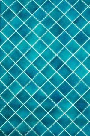 Pattern of mosaic wall photo
