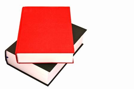 leerboek: Stapel grote boeken