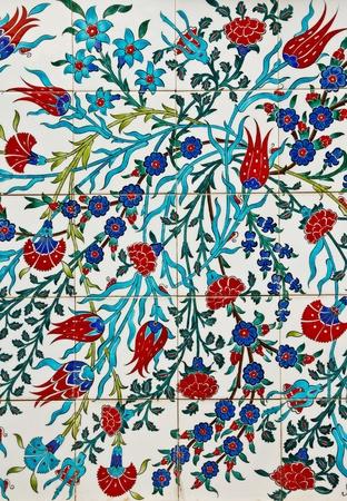 Native türkischen Stil Hauswand Standard-Bild