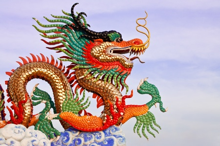 Dragon statue, taken in north of Thailand Stock Photo - 8582771