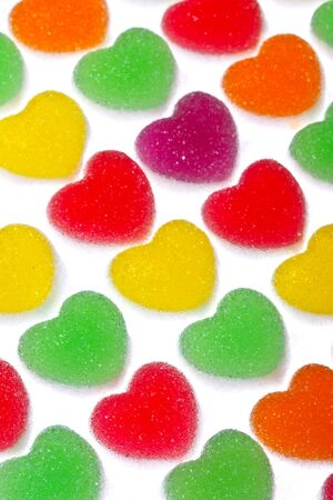 Gummy: Bright color sugar coated gummy