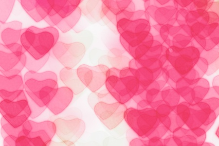 Heart background, taken from night lights Stock Photo - 8582540