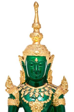 Native Thai style Buddha image photo