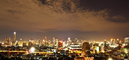 bangkok night: Bangkok, capital city of Thailand
