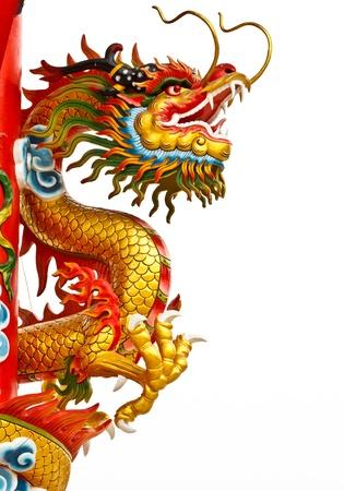 dragones: Estatua de estilo chino drag�n