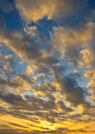colorful cloudscape: Beautiful sky