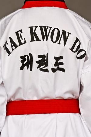 tae: Asian sport, Tae Kwon Do dress