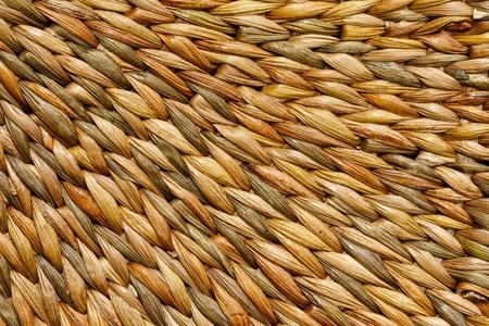 water hyacinth: Pattern of basketry weaving from  Water Hyacinth