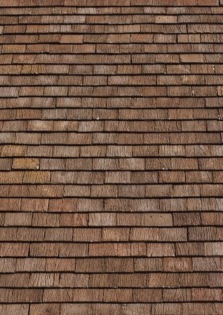 damaged roof: Thai style wood tile