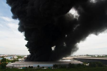 Fire burning cargo Stok Fotoğraf