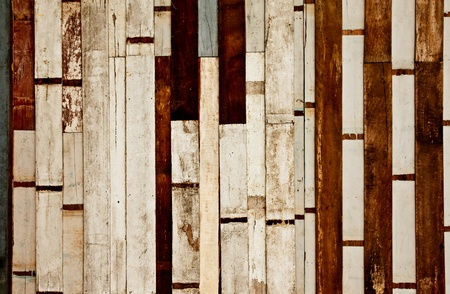 Old wood wall photo