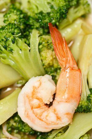 broccolli: Prawn and broccoli vegetable
