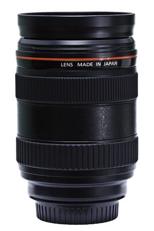 Black lense with words 'Made in Japan' Stock Photo - 10606964