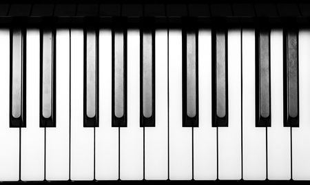 keyboard player: Piano Keyborad Stock Photo
