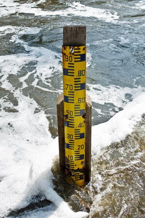 Water level measure tool photo