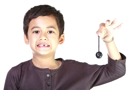 Boy and candy Stock Photo - 12392759